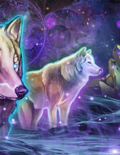 Astral Wolves | Mugwort Designs