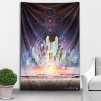 Crystalline Dreams Tapestry | Mugwort Designs