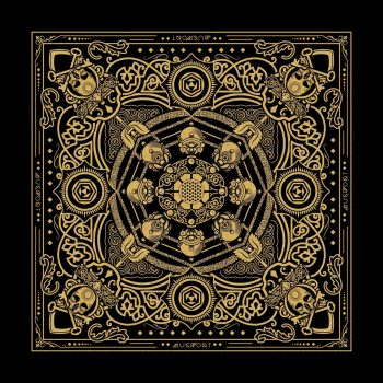 Skull and Keybones Bandana | Mugwort Designs