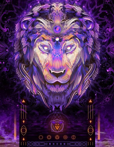 Hyper Light Lion | Mugwort Designs